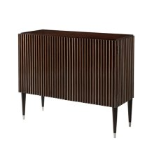 Statement Decorative Chest - Morado & Stainless