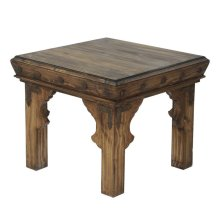 Maya End Table Medio Finish
