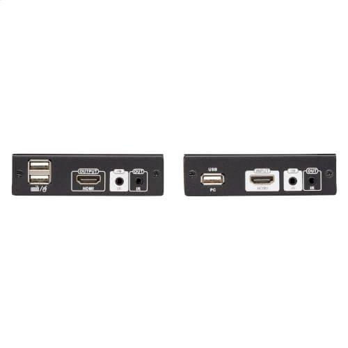 HDMI HDBaseT KVM Console Extender over Cat6 - 2 USB Ports, IR, 4K @ 30 Hz (130 ft.), 1080p (230 ft.)