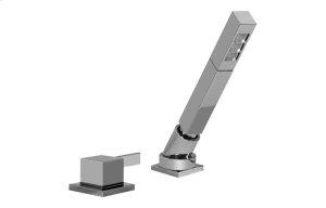 Qubic Tre Deck-Mounted Handshower & Diverter Set Product Image