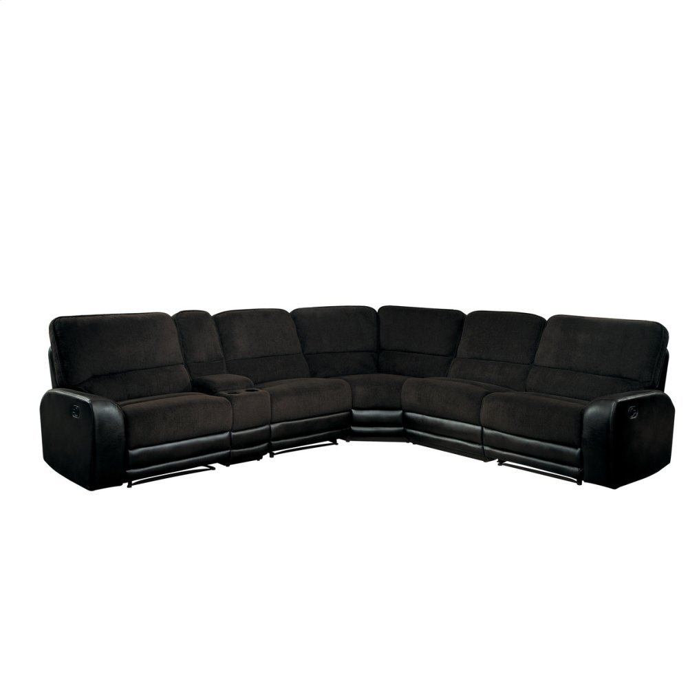6-Piece Modular Reclining Sectional