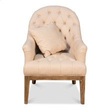 Slipper Tufted Chair
