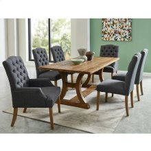 Aspen/Lucian 7pc Dining Set, Grey