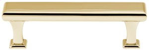Manhattan Pull A310-3 - Polished Brass Product Image