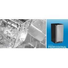 "15"" Clear Ice Machine - Solid Stainless Steel Door - Left Hinge"