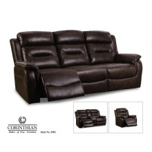 Tundra-chocolate Recliner 55501-10