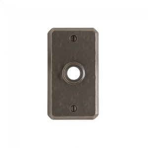Hammered Escutcheon - E30403 Silicon Bronze Brushed Product Image