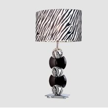 White and Black Lamp
