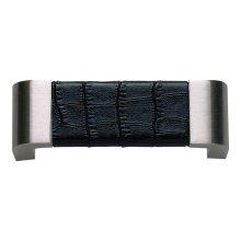 Paradigm Pull 3 Inch (c-c) - BN & Black Croc Leather