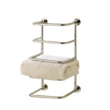 Essentials Four Tier Towel Stacker