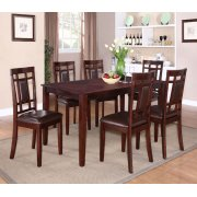 Leg Table, W/6 Chairs Product Image