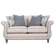 Ivory Loveseat Product Image