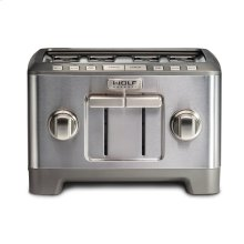 Four Slice Toaster - Brushed Stainless Knob