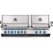 Built-in Prestige PRO 825 RBI Infrared Bottom & Rear Burners , Stainless Steel , Propane