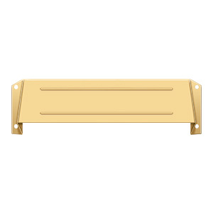 Letter Box Hood - PVD Polished Brass
