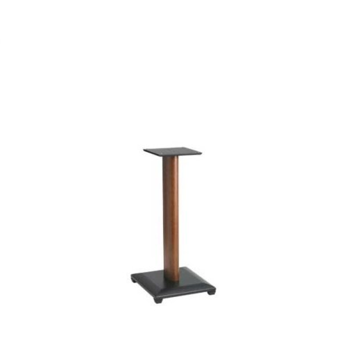 "Cherry 24"" Natural Series Wood Pillar Bookshelf Speaker Stands - Pair"