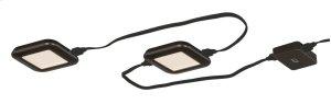 Low Profile Instalux® LED Under Cabinet Puck Light 5-pack Kit Bronze Product Image