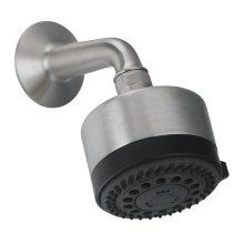 Contemporary Multi-Function Showerhead Kit - Antique Brass