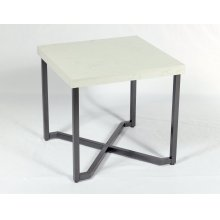 End Table Rta With Marble Top