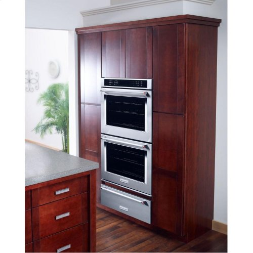 "KitchenAid® 30"" Double Wall Oven with Even-Heat™ True Convection - Stainless Steel **OPEN BOX** West Des Moines Location"