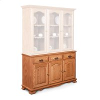 "Classic Hutch Base, Large, Classic Hutch Base, 61 1/2"", 18"" Base Product Image"