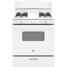 4.8 cu. Ft. Free-Standing Standard Clean Gas Range, Broiler Drawer