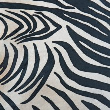 Hair On Hide Zebra