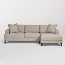 Sidney Sectional - Right Facing Chaise (RAF)