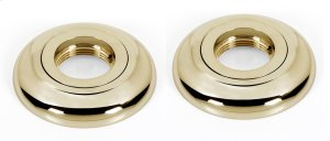Royale Grab Bar Brackets A6624 - Polished Brass Product Image