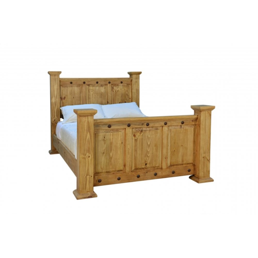Traditional Hacienda King Bed