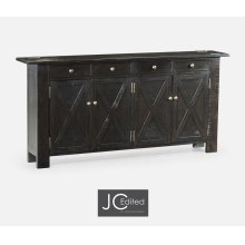 Dark Ale Narrow Sideboard