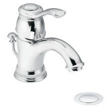 Kingsley chrome one-handle bathroom faucet
