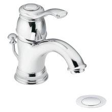 Kingsley chrome one-handle bathroom faucet