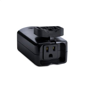 GE Plug-In Outdoor Smart Switch (for Works with Ring Alarm Security System) - Black Product Image
