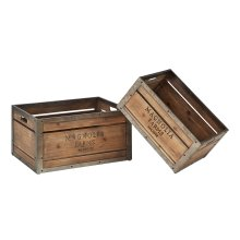Magnolia Farms Rectangular Produce Crates - Set of 2