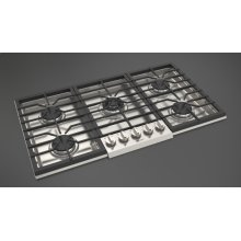 "36"" Gas Cooktop - Stainless Steel"