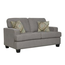 Emerald Home Carter Loveseat Greyu3477-01-43