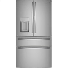 GE Profile™ 27.9 Cu. Ft. 4-Door French-Door Refrigerator with Door In Door