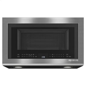 """Euro-Style 30"""" Over-the-Range Microwave Oven with Convection LIGHT COVER MISSING ON BOTTOM, REDUCED!!!!!!!!!"""