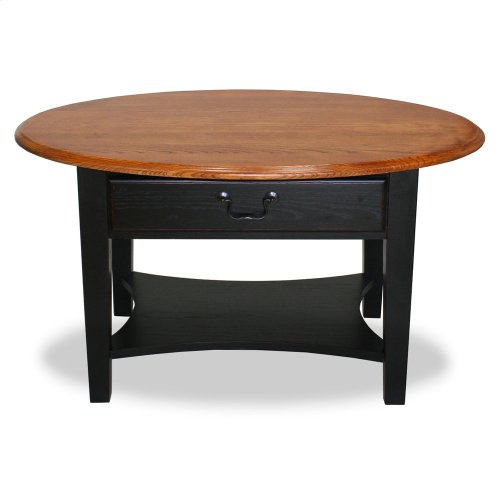 Shaker Oval Coffee Table #9044-SL