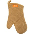 BBQ Mitt - Brown Canvas & Leather Product Image