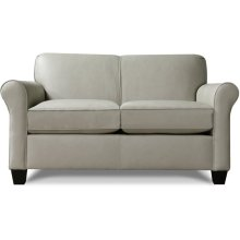 Angie Leather Loveseat 4636LS