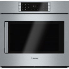Benchmark® Single Wall Oven 30'' Stainless steel, Door hinge: Right HBLP451RUC