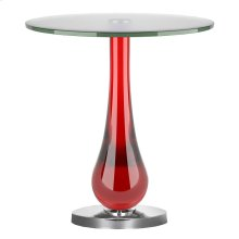 Draper Accent Table, RUBY, SIDE