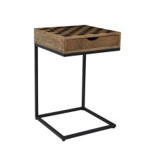 Global Archive Checkerboard C-table or End Table