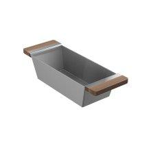 Bin 205039 - Walnut Fireclay sink accessory , Walnut
