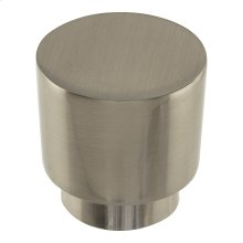Tom Tom Knob 1 1/4 Inch - Brushed Nickel
