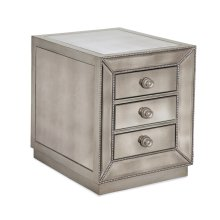 Murano Chairside Chest
