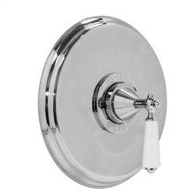 """3/4"""" Thermostatic Shower Set - Deluxe Plate with Orleans Handle"""