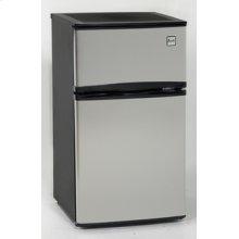 Model RA3103SST - 3.1 CF Two Door Counterhigh Refrigerator - Black w/Stainless Steel Doors